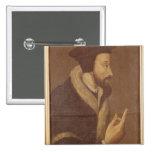 Portrait of John Calvin Pins