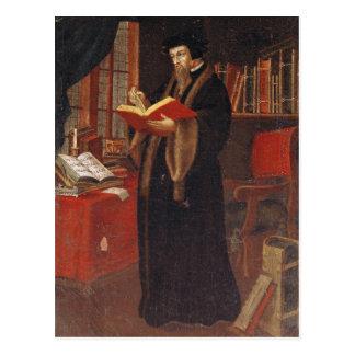 Portrait of John Calvin Postcard