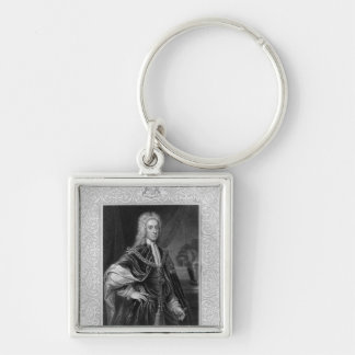 Portrait of John Campbell Keychain