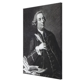 Portrait of John Christopher Smith Canvas Print