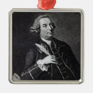 Portrait of John Christopher Smith Metal Ornament