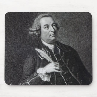 Portrait of John Christopher Smith Mouse Pad