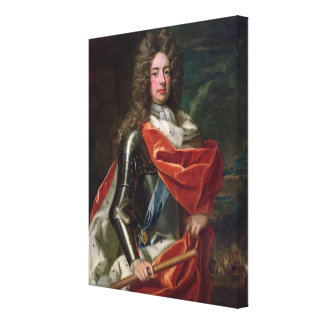 Portrait of John Churchill Gallery Wrapped Canvas