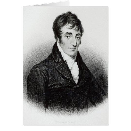 Portrait of John Clare Card