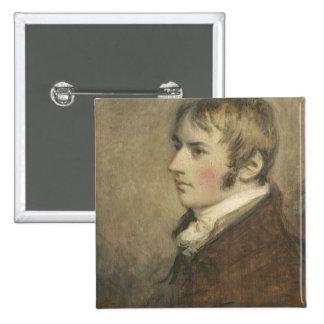 Portrait of John Constable (1776-1837) aged twenty Button