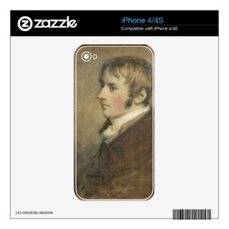Portrait of John Constable (1776-1837) aged twenty Decal For The iPhone 4
