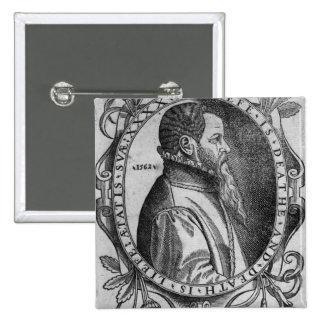 Portrait of John Day, frontispiece Pinback Button