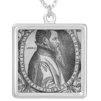 Portrait of John Day, frontispiece Square Pendant Necklace
