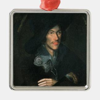 Portrait of John Donne, c.1595 Metal Ornament