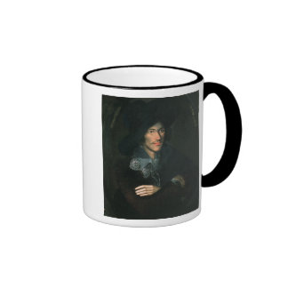 Portrait of John Donne, c.1595 Ringer Coffee Mug