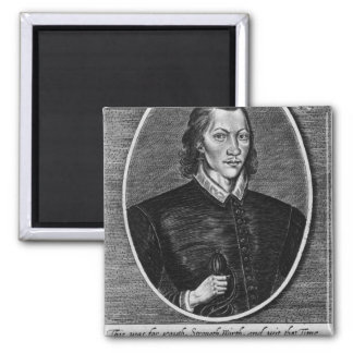Portrait of John Donne Magnet