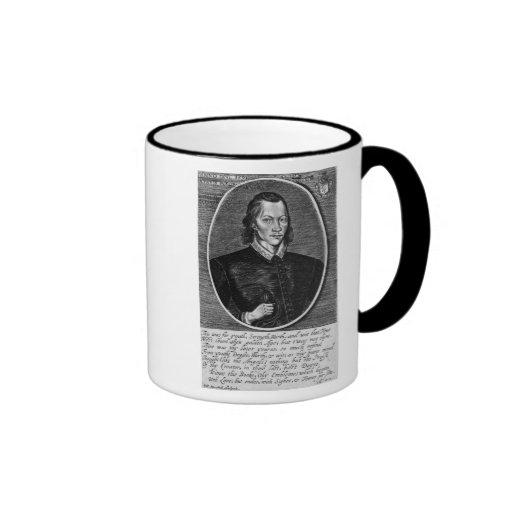 Portrait of John Donne Ringer Coffee Mug