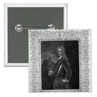 Portrait of John Duke of Montagu Pinback Buttons