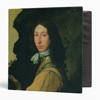 Portrait of John Evelyn 3 Ring Binders
