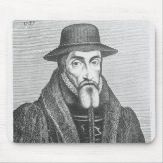 Portrait of John Foxe  English martyrologist Mouse Pad