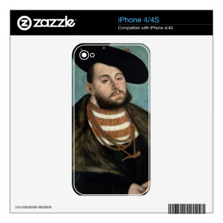 Portrait of John Frederick the Magnanimous (1503-5 iPhone 4 Skin