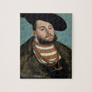 Portrait of John Frederick the Magnanimous (1503-5 Jigsaw Puzzle