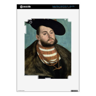 Portrait of John Frederick the Magnanimous (1503-5 Skins For iPad 3