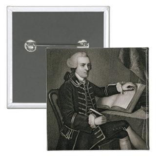 Portrait of John Hancock, engraved by John B. Forr Button