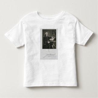 Portrait of John Hancock, engraved by John B. Forr Toddler T-shirt