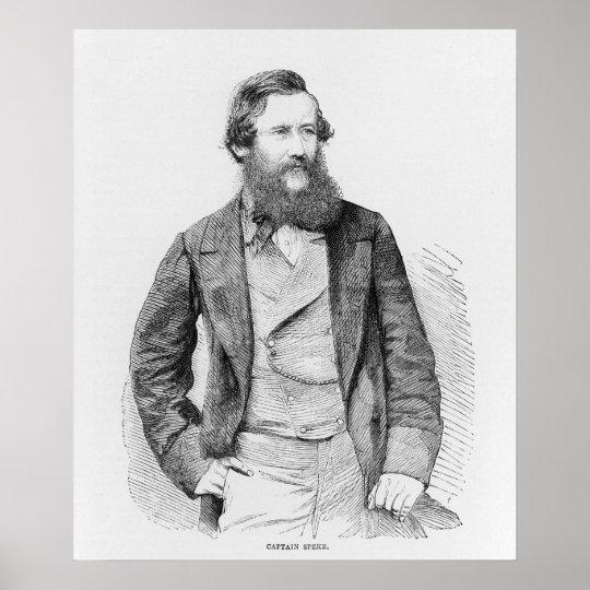 Portrait of John Hanning Speke Poster