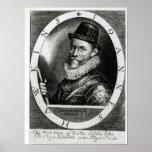 Portrait of John Hawkins Poster