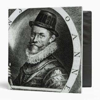 Portrait of John Hawkins Vinyl Binders