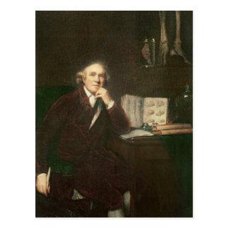 Portrait of John Hunter  after Sir Joshua Postcard