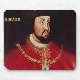 Portrait of John II of Portugal Mouse Pad