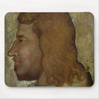 Portrait of John II,'the Good'  King of France Mouse Pad