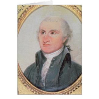 Portrait of John Jay Card