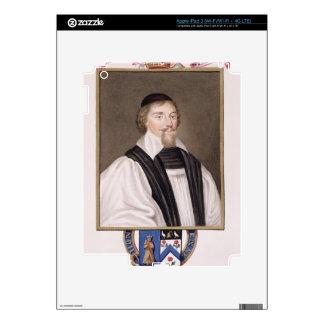 Portrait of John Jewel (1522-71) Bishop of Salisbu Skin For iPad 3