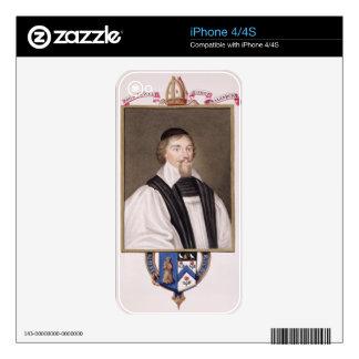 Portrait of John Jewel (1522-71) Bishop of Salisbu Skins For iPhone 4