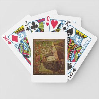 Portrait of John Maynard Keynes (1883-1946) (oil o Bicycle Playing Cards