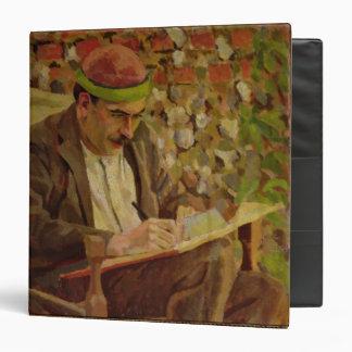 Portrait of John Maynard Keynes (1883-1946) (oil o Binder