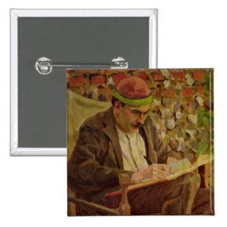 Portrait of John Maynard Keynes (1883-1946) (oil o Button