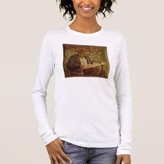 Portrait of John Maynard Keynes (1883-1946) (oil o Long Sleeve T-Shirt