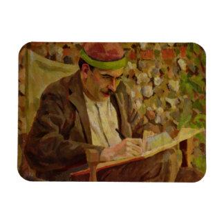 Portrait of John Maynard Keynes (1883-1946) (oil o Magnet
