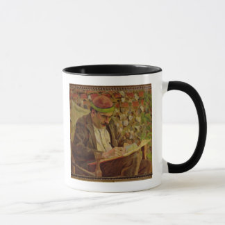 Portrait of John Maynard Keynes (1883-1946) (oil o Mug