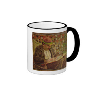 Portrait of John Maynard Keynes (1883-1946) (oil o Ringer Coffee Mug