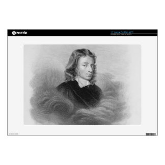 "Portrait of John Milton (1608-74) engraved by the 15"" Laptop Skin"