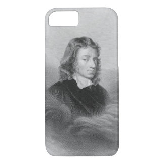 Portrait of John Milton (1608-74) engraved by the iPhone 7 Case