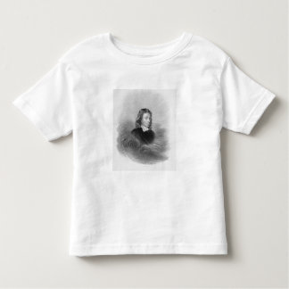 Portrait of John Milton (1608-74) engraved by the Tee Shirt