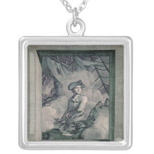 Portrait of John Paul Jones Necklaces