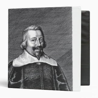 Portrait of John Pym  engraved by George 3 Ring Binder