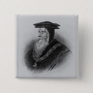 Portrait of John Russell  1st Earl of Bedford Button