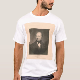 Portrait of John Sutter (1679A) - Restored T-Shirt