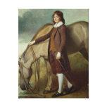 Portrait of John Walter Tempest Canvas Print