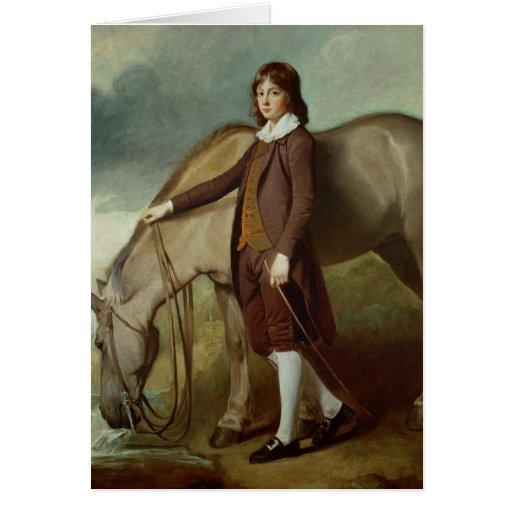 Portrait of John Walter Tempest Greeting Card