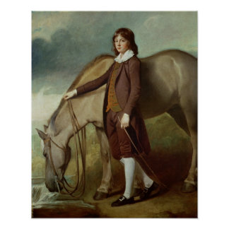 Portrait of John Walter Tempest Poster